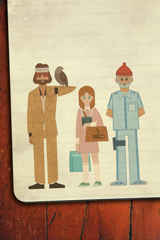 Wes Anderson Iphone Wallpaper Wes Anderson Characters Ipho