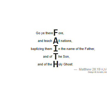 Faith Poems 2
