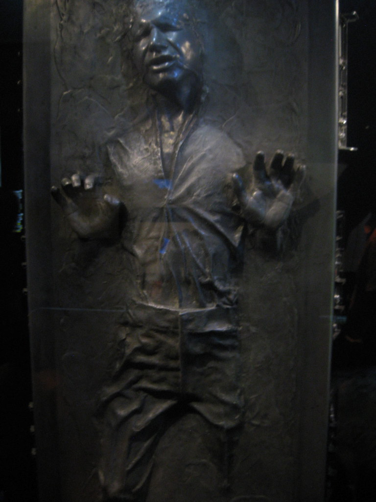 Han Solo Frozen in Carbonite (Original Prop) | Star Wars Ide… | Flickr