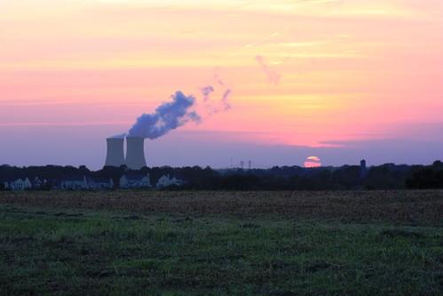 sunset limericknuclearpowerplant montgomerycountypa limericktownship