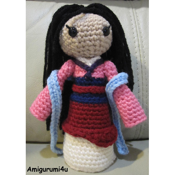 Disney Princess - Free Crochet Pattern (Beautiful Skills - Crochet ... | 570x570