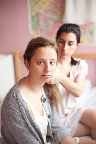 Monika and Sarah