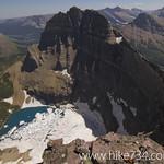 Iceberg Lake and Mount Wilbur