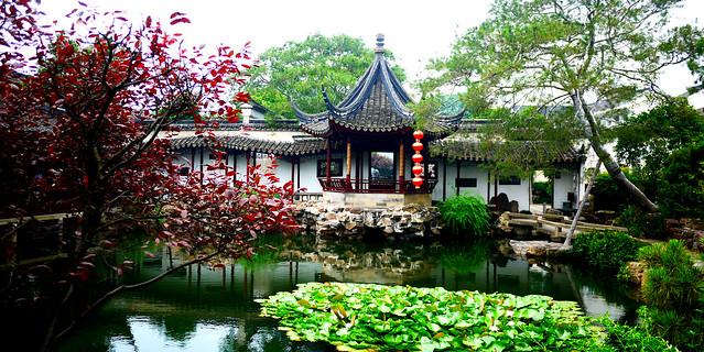 Main Building & Water - Suzhou Net Gardens [苏州]