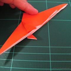 วิธีการพับกระดาษเป็นรูปไดโนเสาร์ (Origami Dinosaur) 005