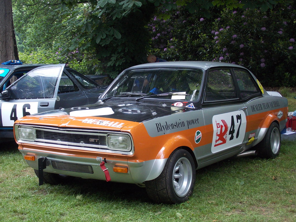 1970 Vauxhall Viva GT | Replica of the car in which Gerry Ma