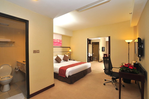 Silka Johor Bahru Executive Club Room with King Size Bed | by Dorsett International