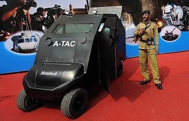 A-TAC Electric Armored Microcar 2010