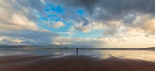 Sebastian on Inch beach, County Kerry, Ireland