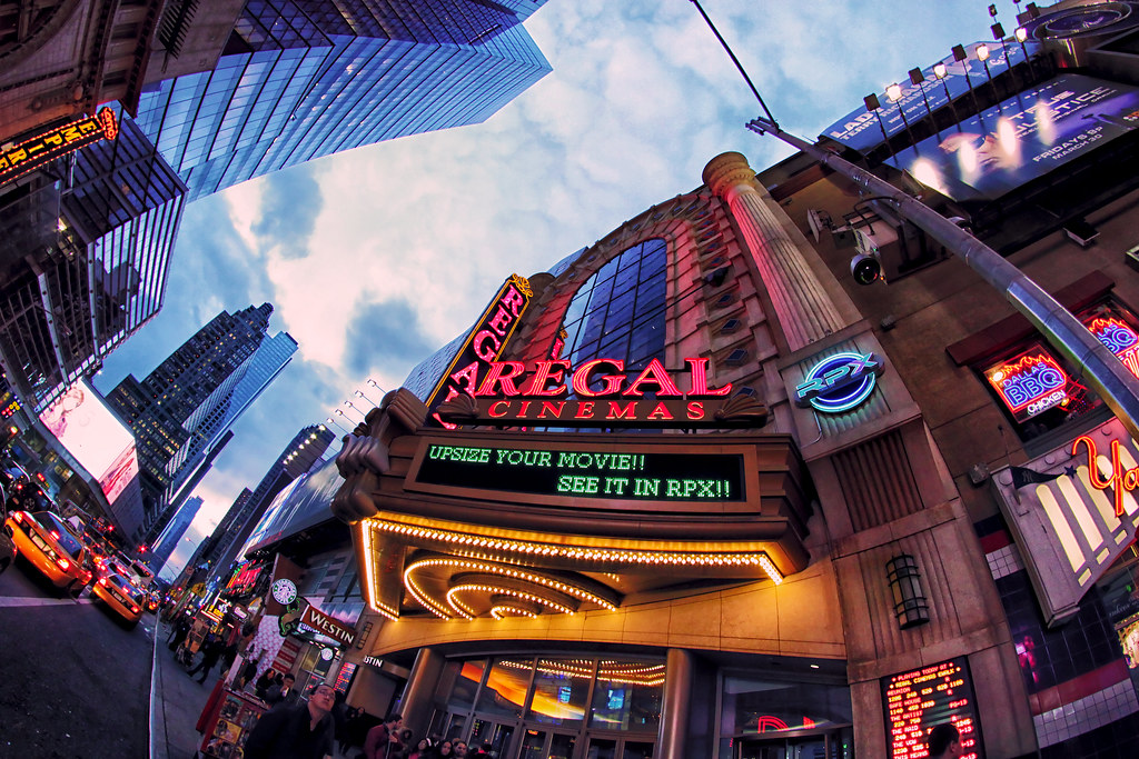 Regal Cinemas Times Square | This huge theater, on 42ed Stre… | Flickr