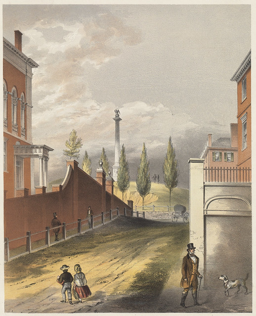 Beacon Hill from Mount Vernon St.