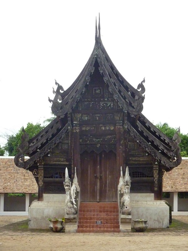 003 Main Viharn, Wat Thom Kain, Chiang Mai