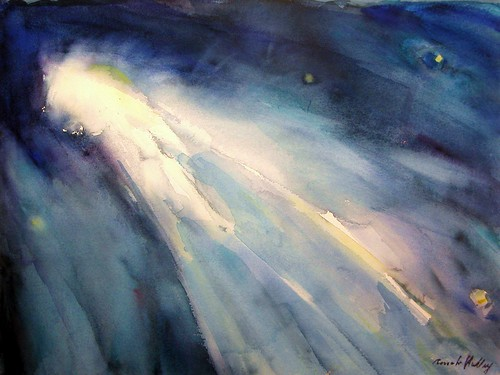 """Space Exhibit Honourable Mention: """"The Comet"""" by Renate Hulley"""