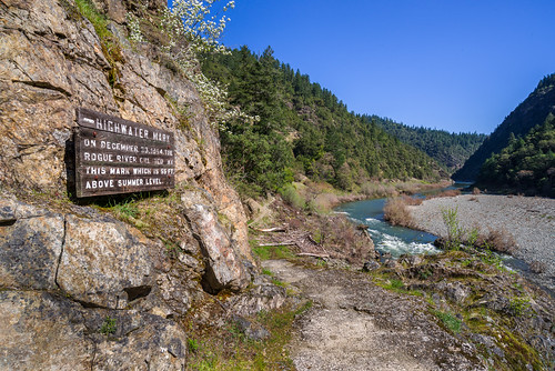 oregon march unitedstates flood rogueriver nationalweatherservice pineappleexpress nws 55ft 100yearflood southwestoregon 1964flood 1000yearflood roguerivernationalrecreationtrail top10weatherevent