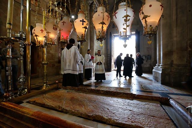Domingo de Ramos en el Santo Sepulcro