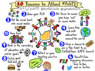 10 Reasons to Attend #PubPD