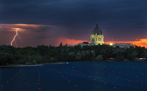 sunset cloud storm reflection landscape parliament colourful regina saskatchewan canadaday wascana legislativebuilding wascanalake
