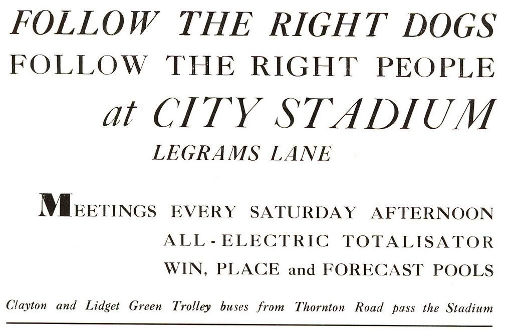 City Stadium - Greyhound Racing - Legrams Lane, Bradford