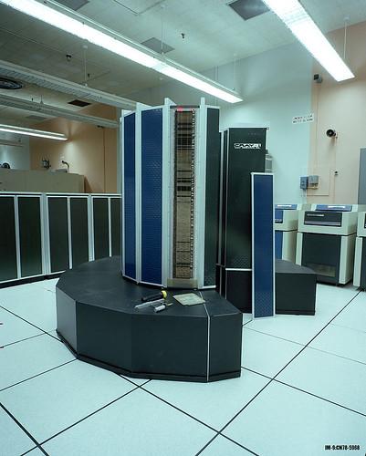 Cray 1 at Central Computing Facility
