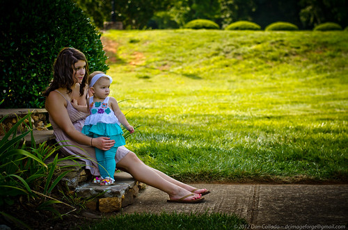 family portrait usa baby sunlight reflection nature beautiful kids children landscape outdoors 50mm maddie nc kid warm child outdoor north memories northcarolina carolina jess 18 2012 50mm18 huntersville fadinglight d7000 dcimageforge dannycollado