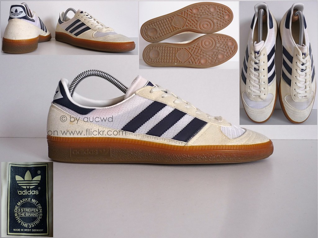 70`S / 80`S VINTAGE ADIDAS HANDBALL SHOES / TRAINERS | Flickr