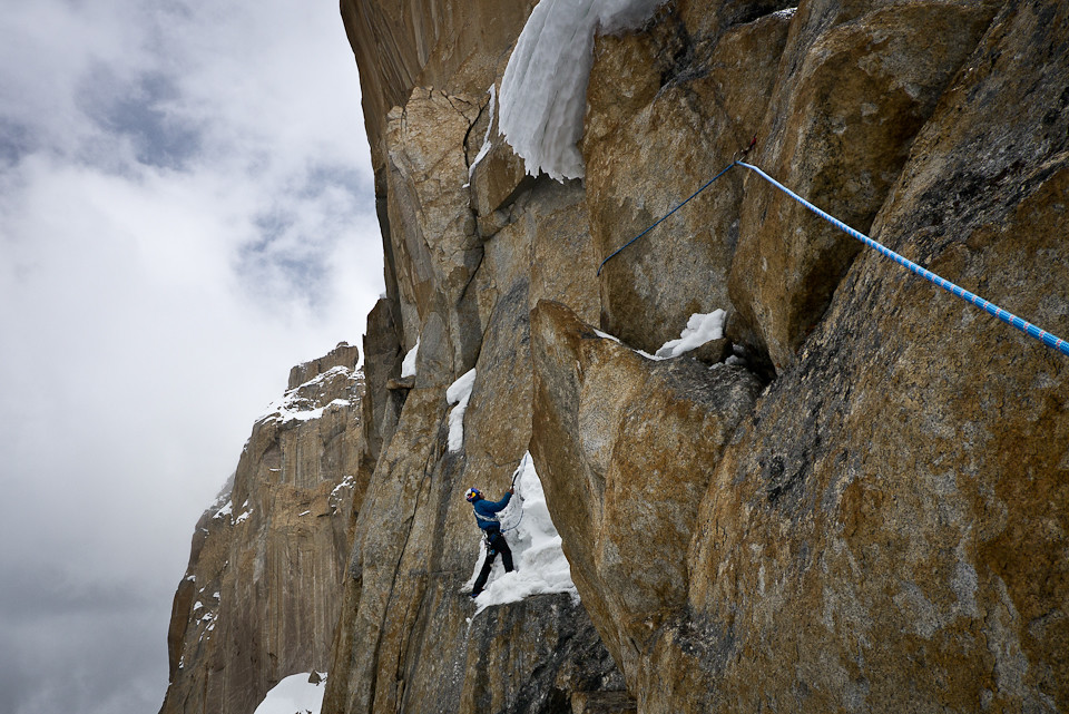 Mammut Peak Project - David Lama on Trango Tower | Photo: Co