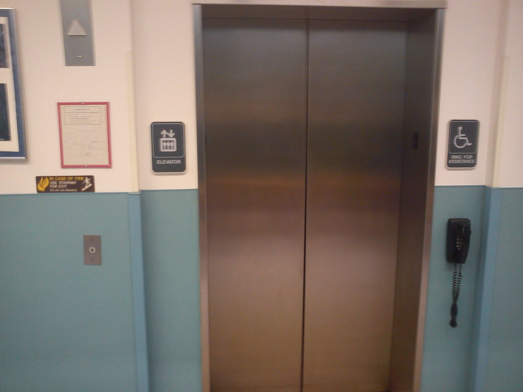 Schindler MT Elevator at Atlantic Cape Community College i