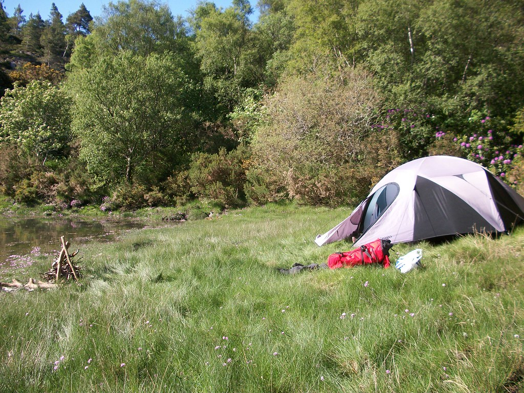 Me and Clively's wild camping Plockton home | miss clever