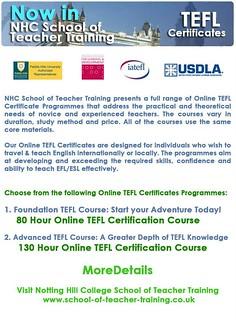 TEFL Certificates