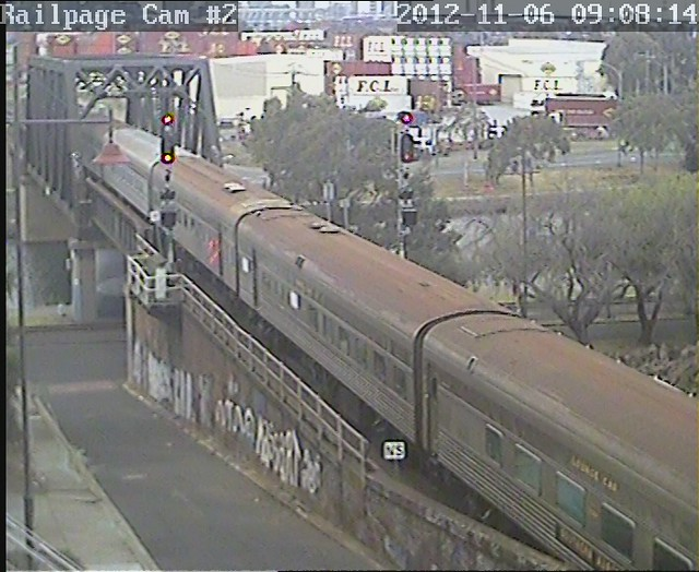 Bunbury Street Railcam #2 by Railpage Bunbury Street