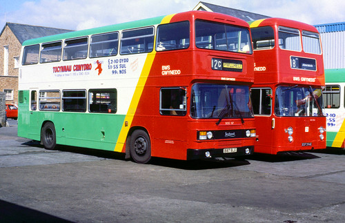 Ribble NRN377P Preston 1986 Bus Photo