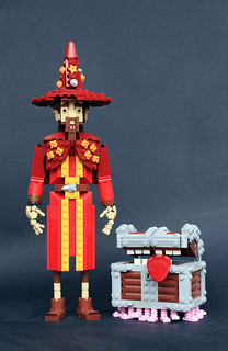 Rincewind & The Luggage | by Eero Okkonen