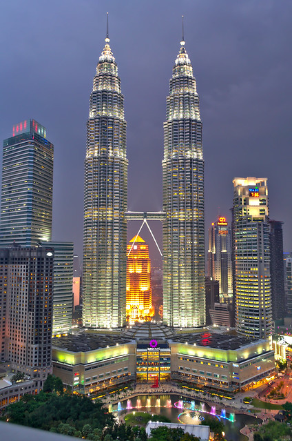 Petronas towers, KL [Explored]