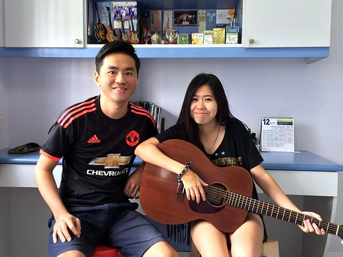 Guitar lessons Singapore Yi Ning