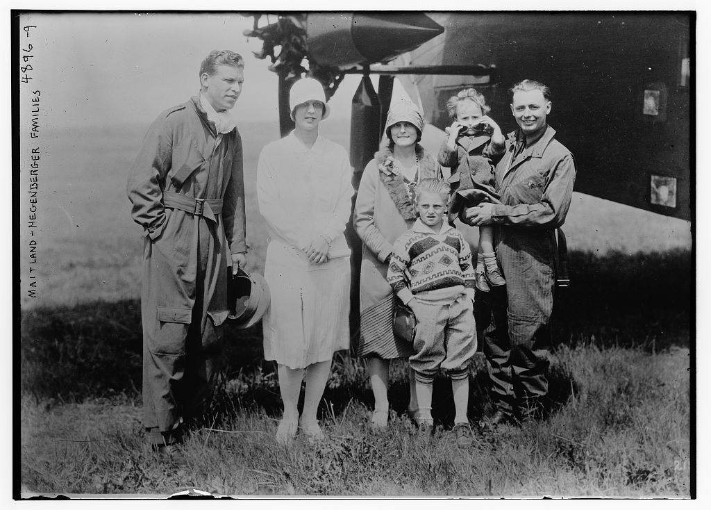 Maitland -- Hegenberger families (LOC)