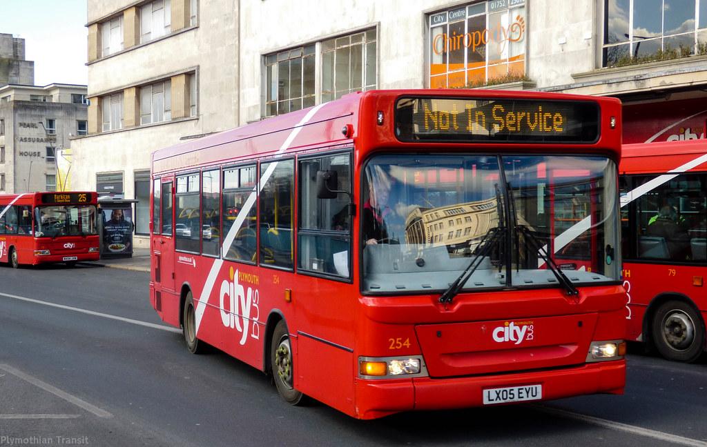 Plymouth Citybus 254 LX05EYU