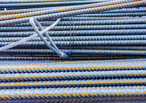 wire rust metro steel rods nytorv kongens byggeri