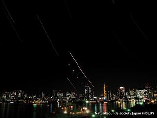 Venus, Moon, Jupiter and Tokyo Tower | by Nature Sounds Society Japan (NSSJP)