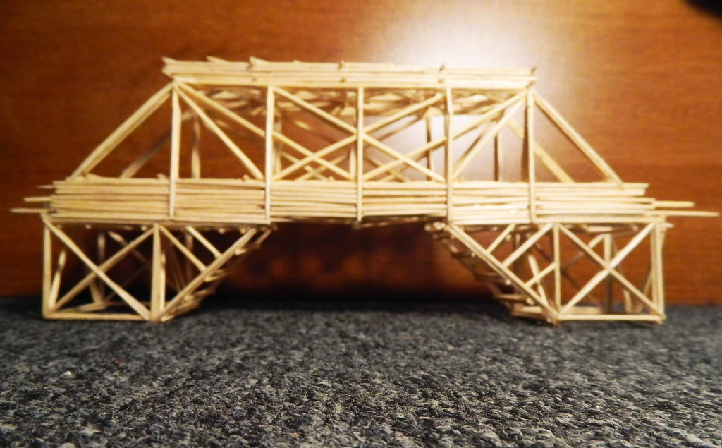 Toothpick Bridge Toothpicks 2011 Olivia Wang Flickr