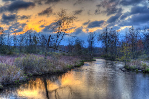 blue sky white water clouds mi sunrise reflections river spring michigan concord hdr mygearandme mygearandmepremium mygearandmebronze mygearandmesilver mygearandmegold