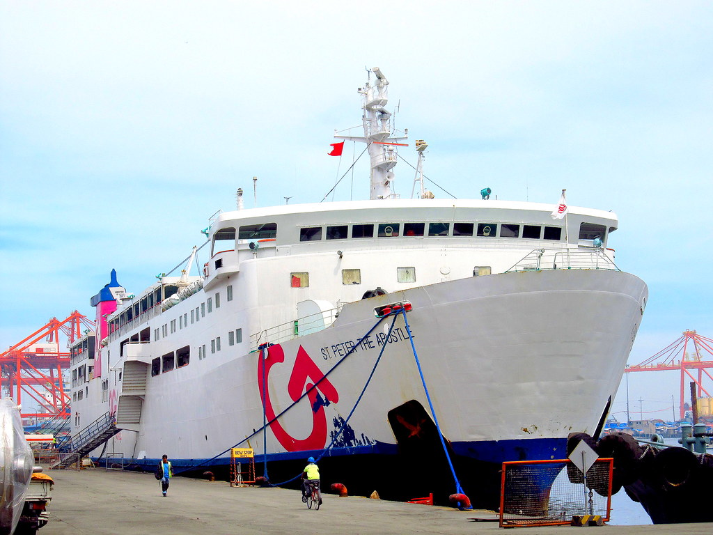 2GO Travel M/V Saint Peter the Apostle Starboard | Pier 2 Ma