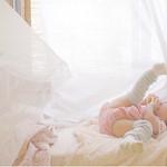 13 ベビー布団で眠い