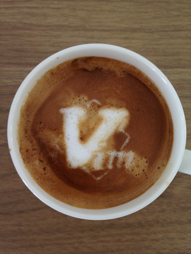 Today's latte, Vim. | by yukop