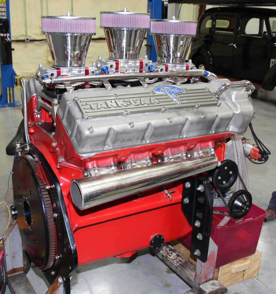 Ford Sherman Tank Engine