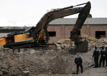 Una bomba de la SGM estalla en Euskirchen
