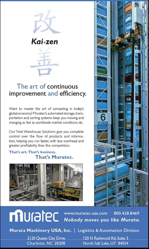 Murata Machinery Material Handling Ad