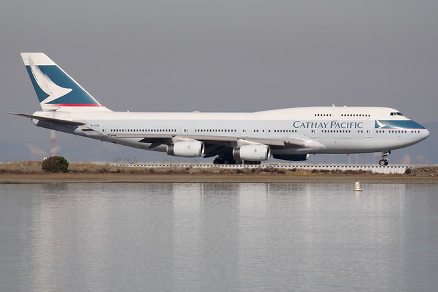 Cathay Pacific Airways Boeing 747-467 (B-HOW)