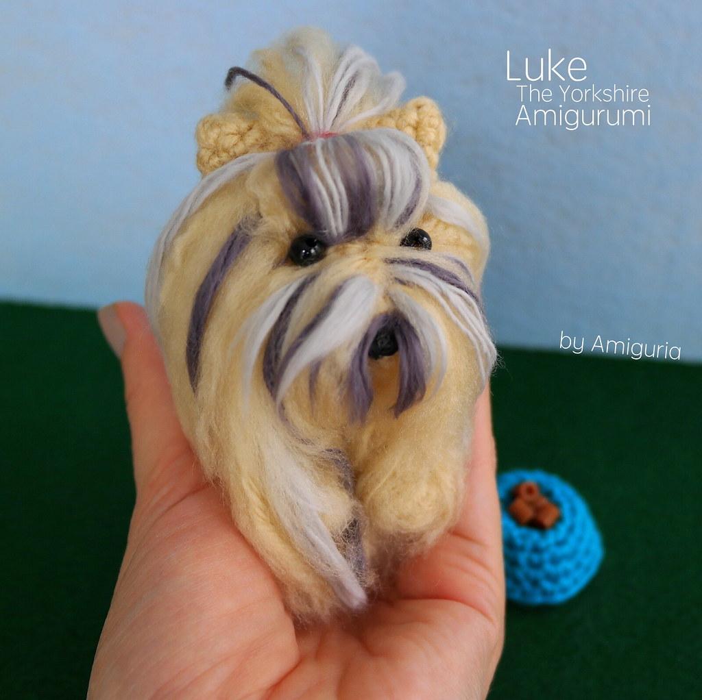 Yorkshire Terrier, Dog Amigurumi, Yorkie Handmade Stuffed - Import ... | 1022x1024