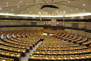 European Parliament Plenary Chamber | by diamond geezer
