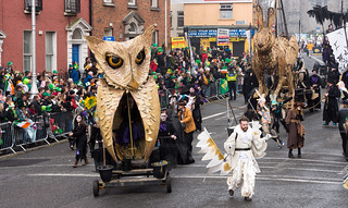 """SPRAOI """"WILD AT HEART"""" DUBLIN 2015 ST. PATRICK'S DAY PARADE REF-102398 
